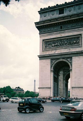 Smart Car in Paris