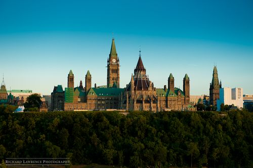 Ottawa Parliament Building - Richard Lawrence Photography